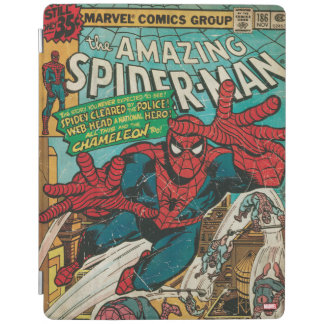 The Amazing Spider-Man Comic #186 iPad Cover