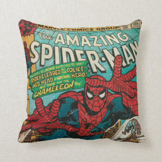 The Amazing Spider-Man Comic #186 Throw Pillow