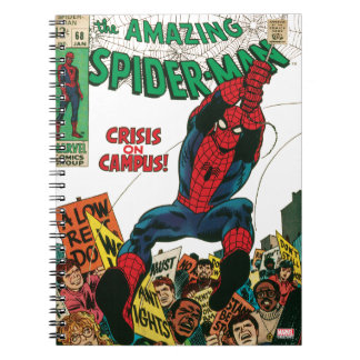 The Amazing Spider-Man Comic #68 Notebook