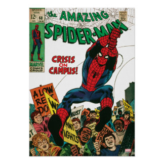 The Amazing Spider-Man Comic #68 Poster