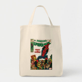 The Amazing Spider-Man Comic #68 Tote Bag