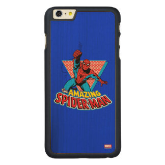 The Amazing Spider-Man Graphic Carved Maple iPhone 6 Plus Case
