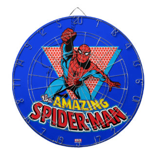 The Amazing Spider-Man Graphic Dart Boards
