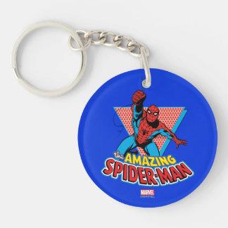 The Amazing Spider-Man Graphic Keychain