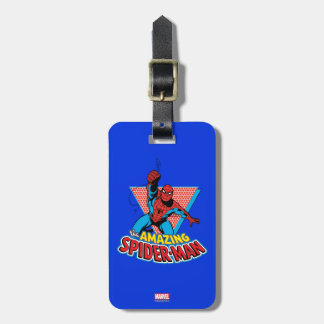 The Amazing Spider-Man Graphic Luggage Tag
