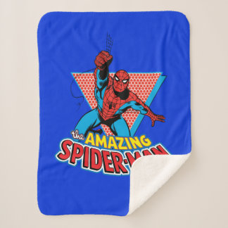 The Amazing Spider-Man Graphic Sherpa Blanket