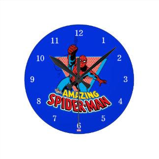 The Amazing Spider-Man Graphic Wallclocks