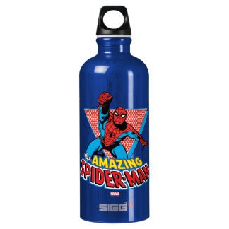 The Amazing Spider-Man Graphic Water Bottle