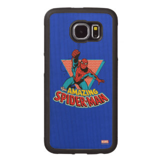The Amazing Spider-Man Graphic Wood Phone Case