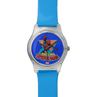 The Amazing Spider-Man Graphic Wristwatches