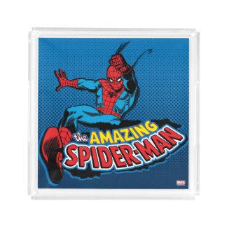 The Amazing Spider-Man Logo Acrylic Tray