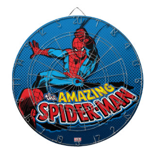 The Amazing Spider-Man Logo Dart Boards