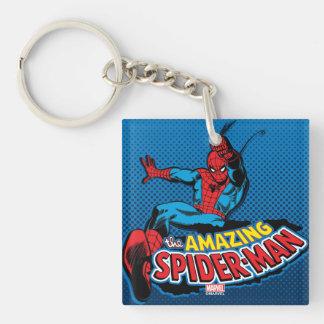 The Amazing Spider-Man Logo Keychain