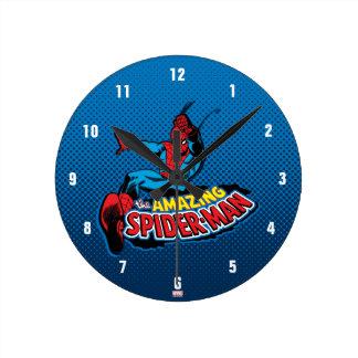 The Amazing Spider-Man Logo Wallclock