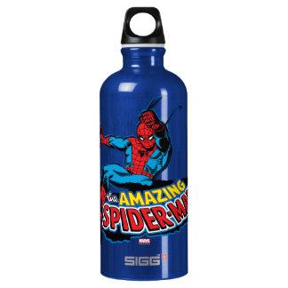 The Amazing Spider-Man Logo Water Bottle