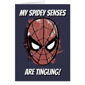 The Amazing Spider-Man Retro Comic Halftone Head Card