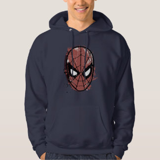 The Amazing Spider-Man Retro Comic Halftone Head Hoodie