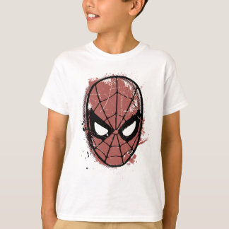 The Amazing Spider-Man Retro Comic Halftone Head T-Shirt