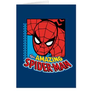 The Amazing Spider-Man Retro Comic Icon Card