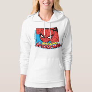 The Amazing Spider-Man Retro Comic Icon Hoodie