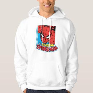 The Amazing Spider-Man Retro Comic Icon Hoodie