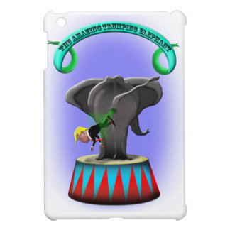 the amazing trumping elephant cover for the iPad mini