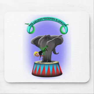 the amazing trumping elephant mouse pad