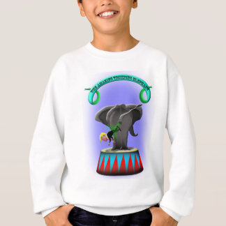 the amazing trumping elephant sweatshirt