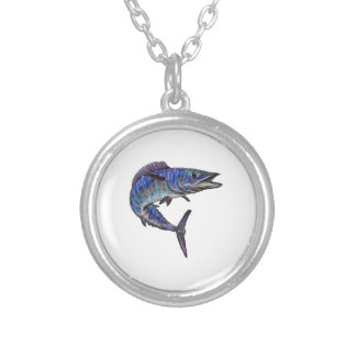 THE AMAZING WAHOO SILVER PLATED NECKLACE