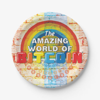 The Amazing World of Bitcoin Paper Plate