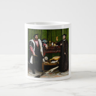 The Ambassadors by Hans Holbein the Younger Large Coffee Mug