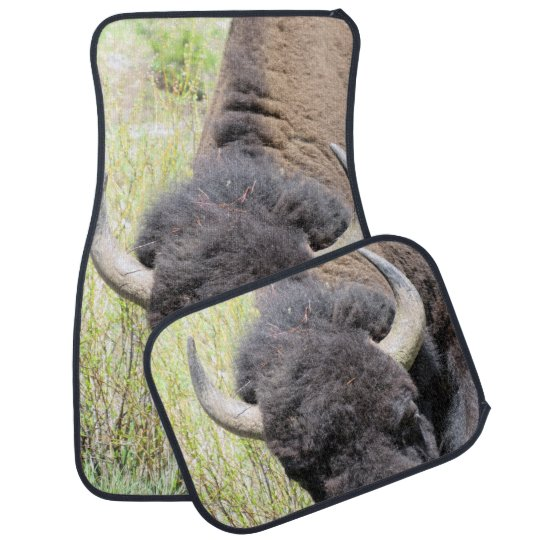 The American Bison Car Mats Car Liners