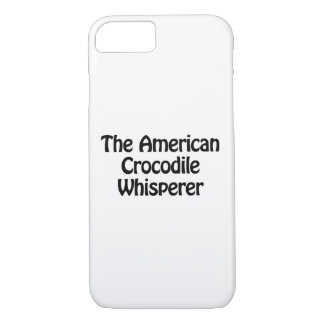 the american crocodile whisperer iPhone 7 case