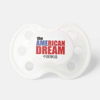 The American Dream (made in China) Baby Pacifier