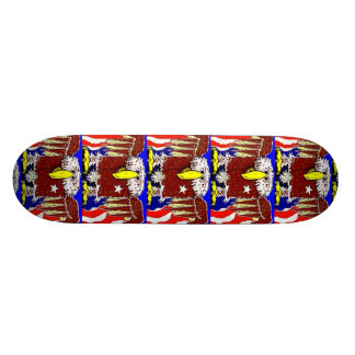 The American Eagle Flyer Custom Skate Board