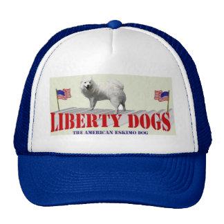 The American Eskimo Dog Trucker Hat