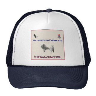 The American Eskimo Trucker Hat