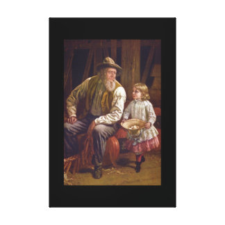 The American Farmer', Thomas_Art of America Canvas Print