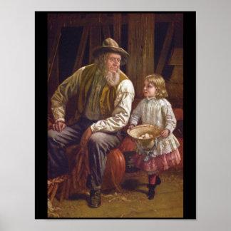 The American Farmer', Thomas_Art of America Poster