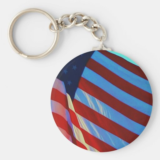 The American Flag Key Chains