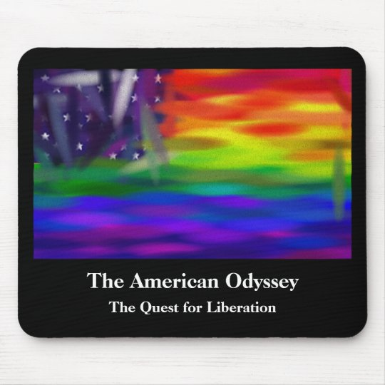 The American Odyssey Mouse Pad