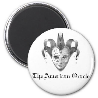 The American Oracle Logo Magnet