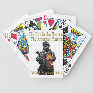 The American Patriot clothing line Bicycle Playing Cards