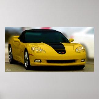 THE AMERICAN SPORTS CAR: CORVETTE POSTER