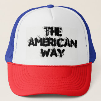 The American Way Trucker Hat