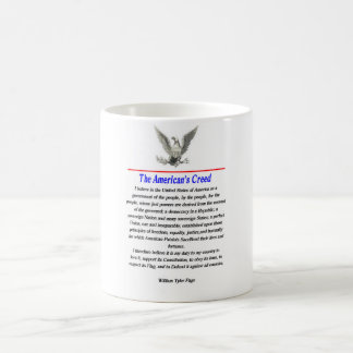 The American's Creed Coffee Mug