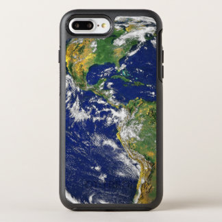 The Americas, As Seen From Space OtterBox Symmetry iPhone 8 Plus/7 Plus Case