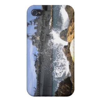The amphibious assault ship USS Kearsarge iPhone 4/4S Case