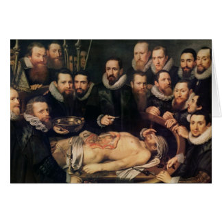 The Anatomy Lesson of Doctor Willem van der Card