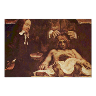 The Anatomy Lesson Of Dr. Joan Deyman. By Rembrand Poster
